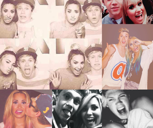 demi lovato, nialler, and directioners image