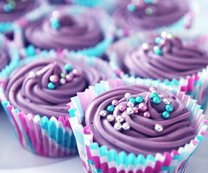 blue, sweet, and violet image