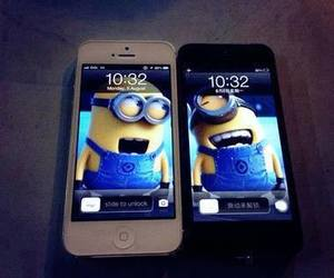 iphone and minions image