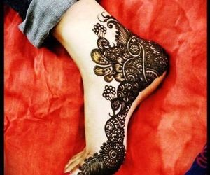 henna, mehndi, and wedding image