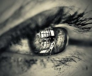 eye, photography, and eyes image