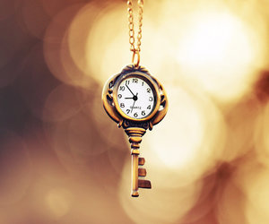 key and time image
