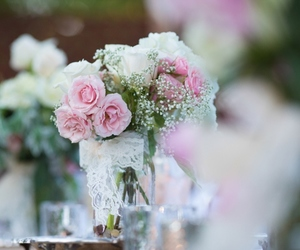 flores, wedding, and rosas image