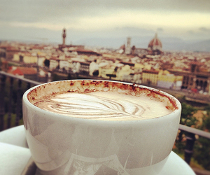 cappuccino, firenze, and coffee image