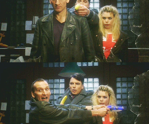 banana, billie piper, and christopher eccleston image