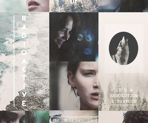 the hunger games, katniss everdeen, and katniss image