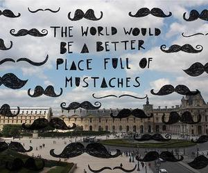 mustache, world, and moustache image