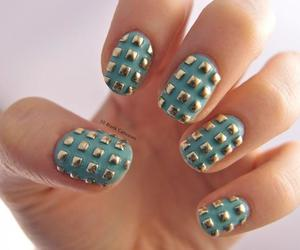 nails, cute, and studs image