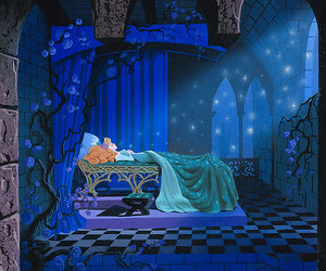 disney, disneyland, and sleeping beauty image