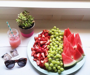 fruit, healthy, and sunglasses image