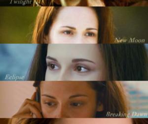 bella swan, new moon, and twilight saga image