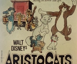 aristocats, disney, and walt image