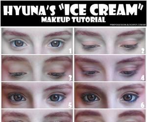 makeup, 4minute, and hyuna image