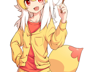 anime, pokemon, and fennekin image
