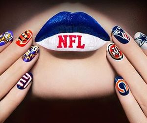 football, NFL, and nails image