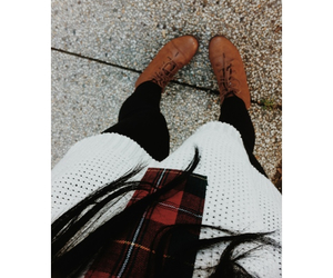outfit, shoes, and style image
