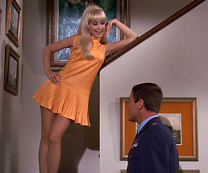 i dream of jeannie, television, and vintage image