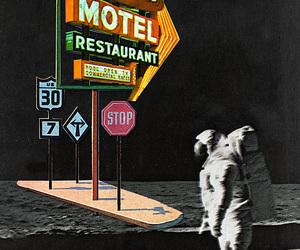 art, astronaut, and eugenia loli image