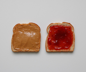 peanut butter, jelly, and pb&j image