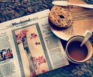 newspaper, pic, and vintage image