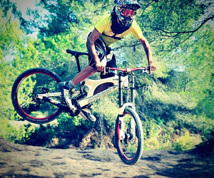 bike, downhill, and freeride image