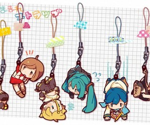 vocaloid and key chains image