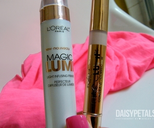 loreal, primer, and mascara image