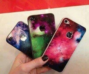 galaxy and iphon image