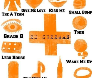 ed sheeran, the a team, and drunk image