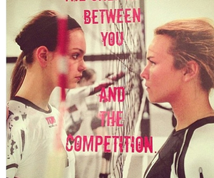 competition, love, and girls image
