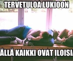 finnish, koulu, and highschool image