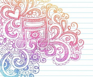 doodle and music image