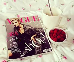 fashion, vogue, and coffee image