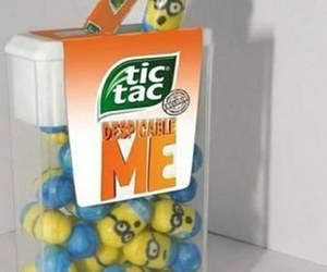 minions and tic tac image