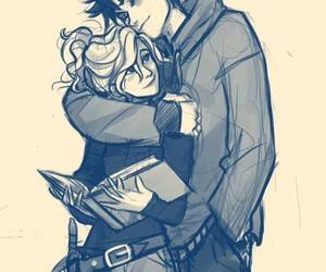 love, percabeth, and couple image