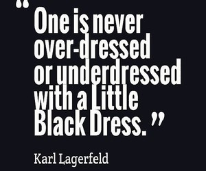 quote, black, and dress image