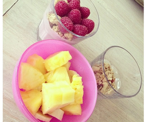 fitness, FRUiTS, and pink image