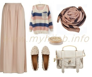 clothes, hijabfashion, and fashion image