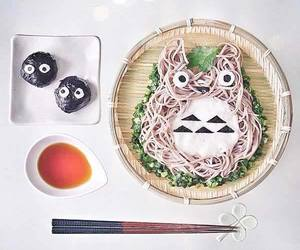 totoro, food, and japan image