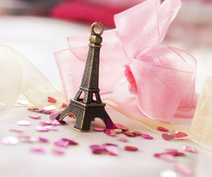 eiffel tower, pink, and paris image
