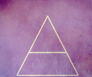 pink, purple, and triangle image