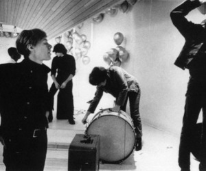 andy warhol, lou reed, and the velvet underground image