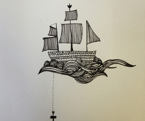 anchor, castle, and draw image