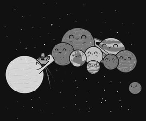 funny, planet, and photo image
