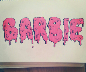 barbie, cool, and font image