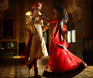 bride, dance, and india image