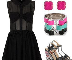 bags, dresses, and earings image