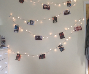 bedroom, fairy, and fairy lights image