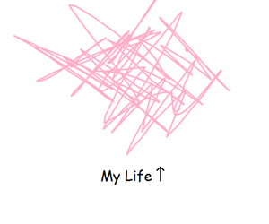 life, pink, and my life image