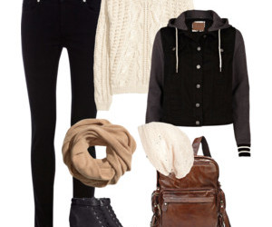 Polyvore and winter image
